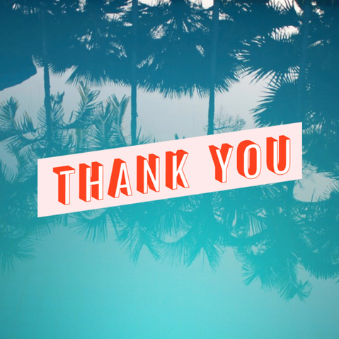 Spread a message of thanks from your social media account
