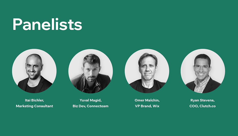 """Panelists in our online event, """"How do you sustain growth during times of uncertainty?"""""""