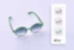sunglasses in different colors sold by new merchants with dropshipping on Wix