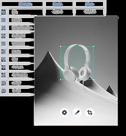 База даних побудована за допомогою платф