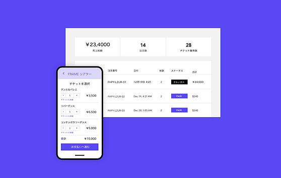 スマートフォン画面に表示されたチケット購入ページの画像