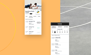 Wix Fitness customized mobile app