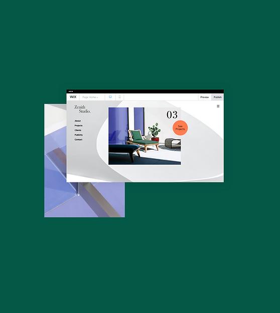 A design agency website