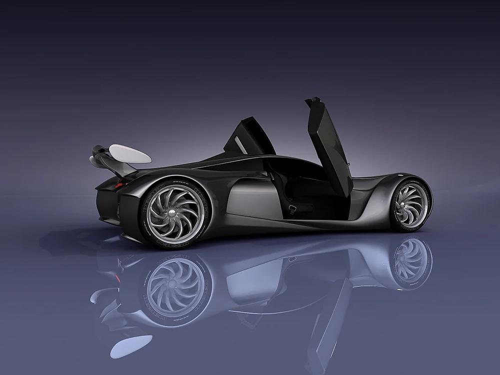 A concept vehicle design