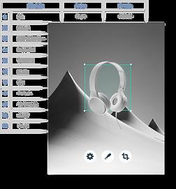 Una base de datos construida usando Velo de Wix
