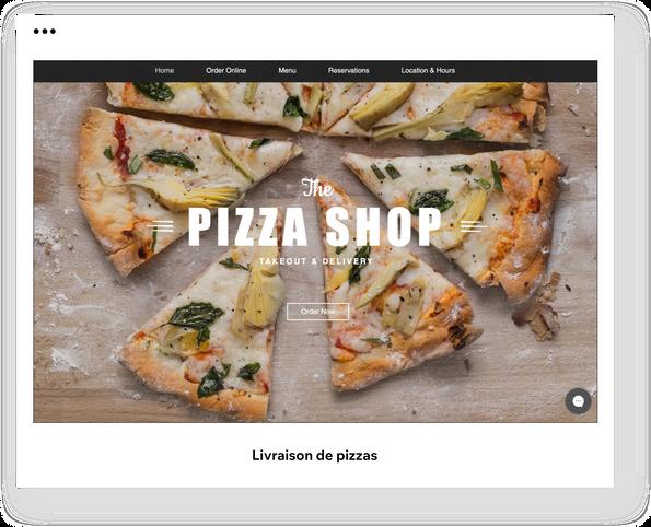 Livraison de pizzas
