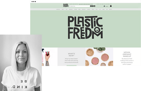 Beth Noy Plastic Freedom website
