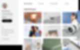 Projets exposés sur la Wix Marketplace