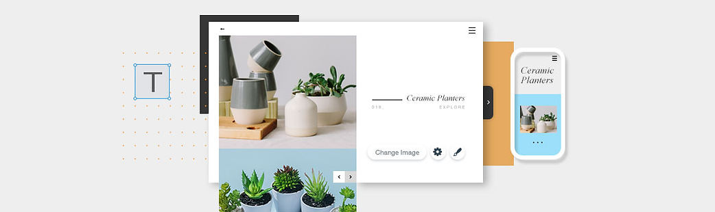 Online Store for Ceramic Planters