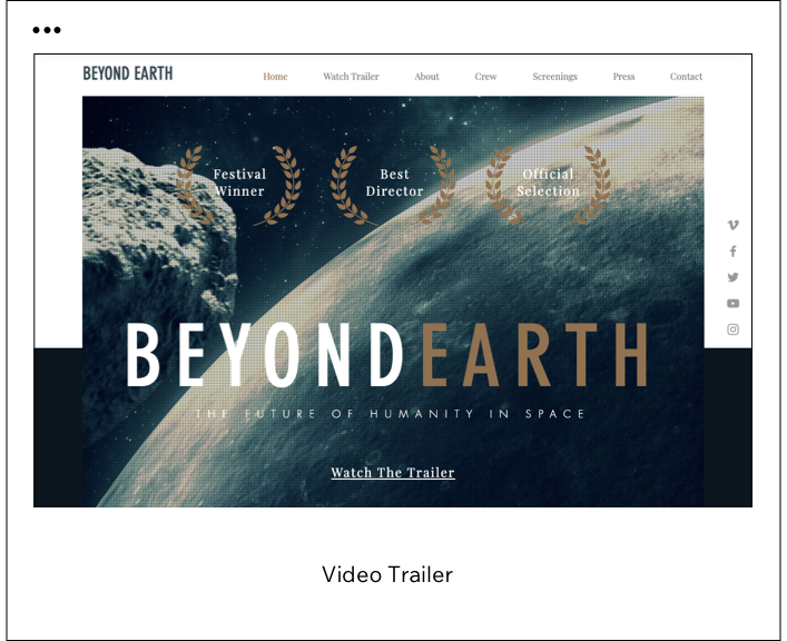 Video Trailer Template