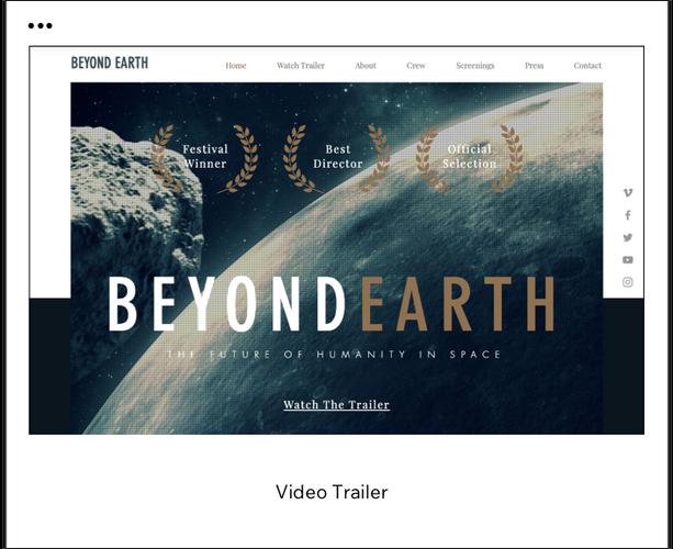 Video Trailer Template