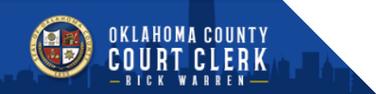 Oklahoma County Court Clerk Rick Warren