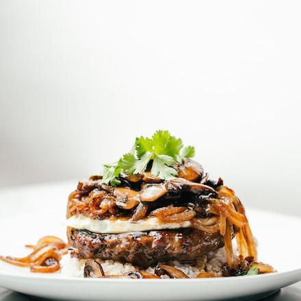 Hawaiian and tropical food dish at restaurant in Oklahoma City 1
