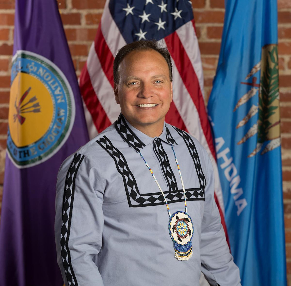 Chief of the Choctaw Nation Oklahoma