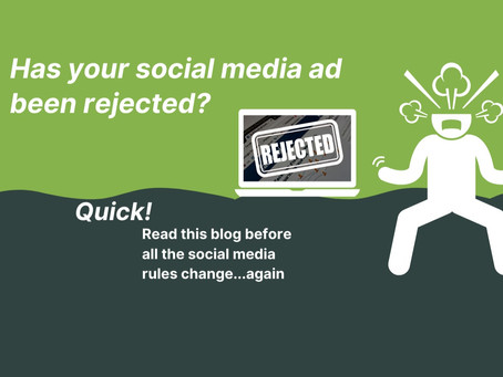 Quick! Read this blog before all the social media rules change...again.