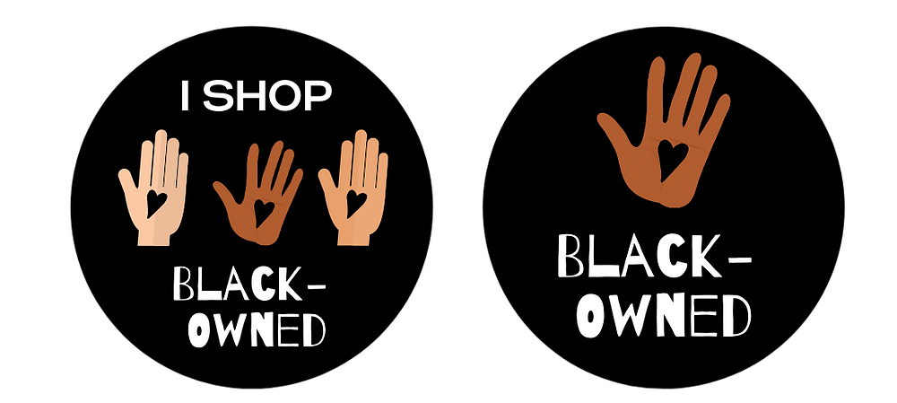 facebook frames created for black owned business support