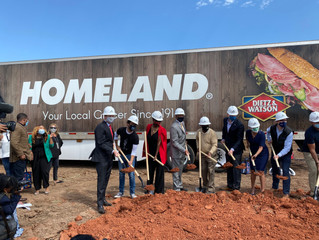 NE OKC celebrates grocery store groundbreakings