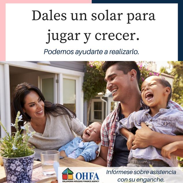 OHFA Social Post - Spanish