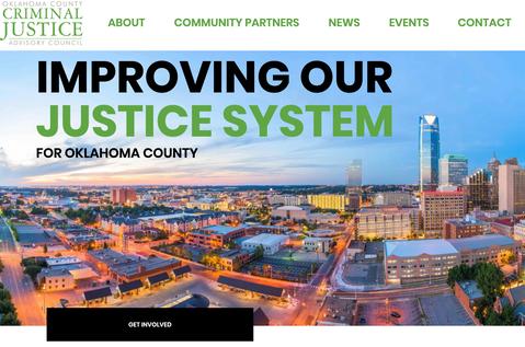 CJAC Website Thumbnail Oklahoma City Website