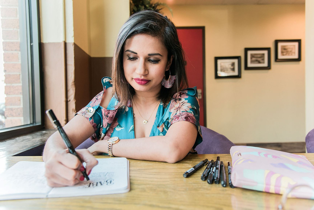 Aditi Panchal is a designer and creative coordinator and art director for Hobby Lobby