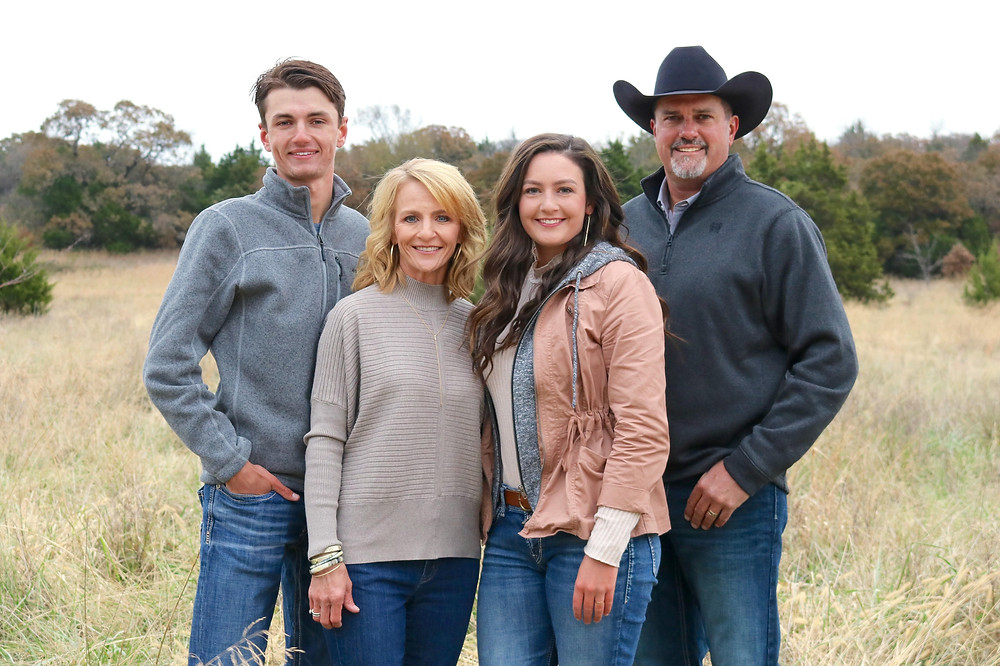 Dusty Turner of MasterHand Milling with his family