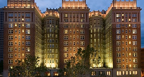 The Skirvin Hotel in downtown Oklahoma City