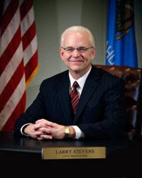 Larry Stevens, City Manager of Edmond