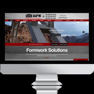 GFS Construction Web Design