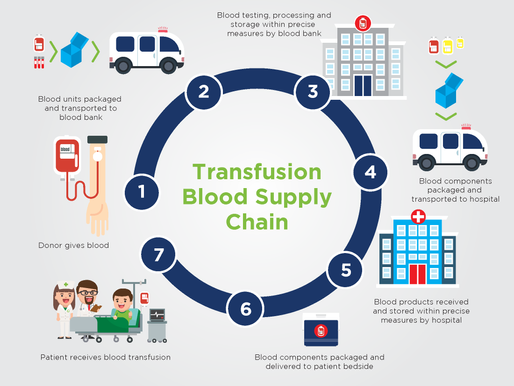 The Challenges of the Blood Supply Chain