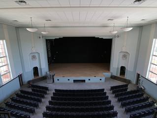 Auditorium brings art to life