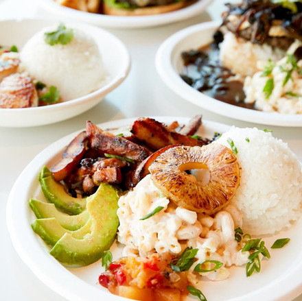 Hawaiian and tropical food dish at restaurant in Oklahoma City3