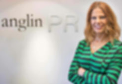Debbie in front of Anglin sign CROPPED.j