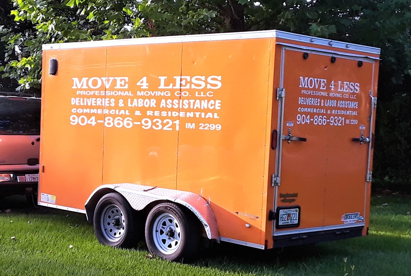 Move4Less LLC NE Florida Trucks