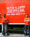 Move4Less LLC Moving Compay Truck