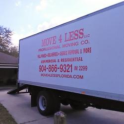Large White Box Truck