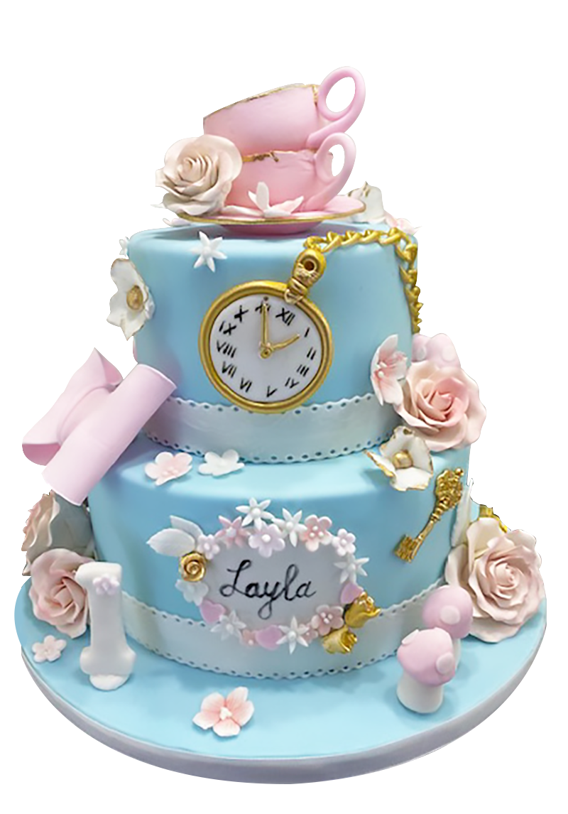 Custom cakes for corporate events from A Love for Cakes based in Queens, New York