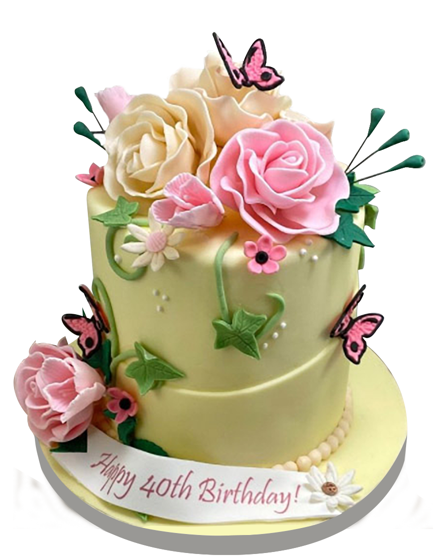 Custom Birthday cakes for adults from A Love for Cakes based in Queens, New York