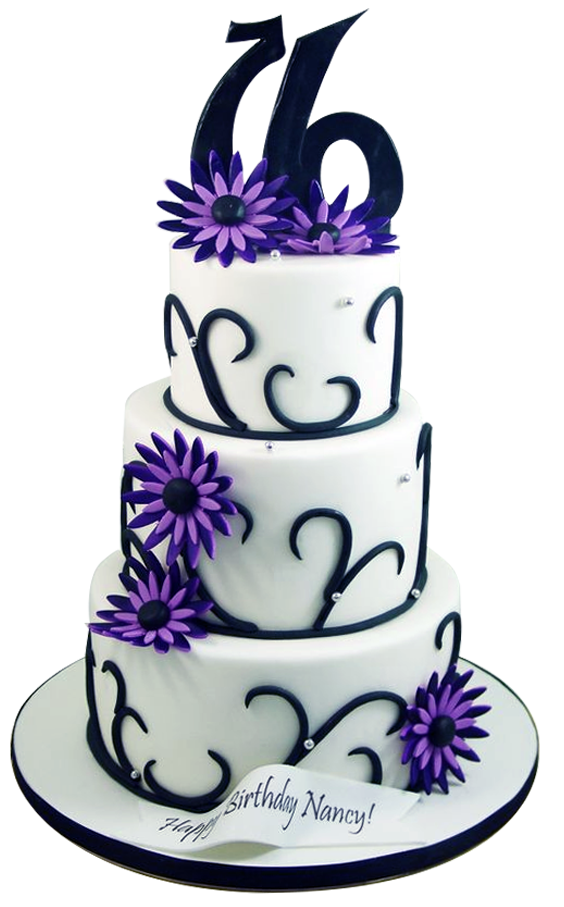 Custom cakes for sweet 16 from A Love for Cakes based in Queens, New York