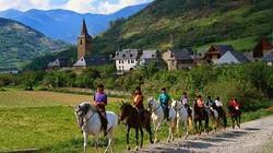 Montar caballos Vielha