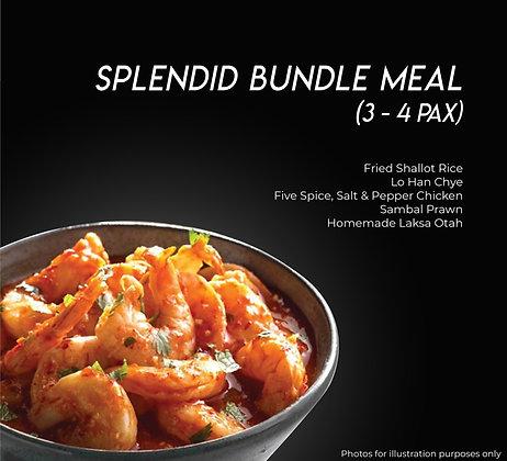Splendid Bundle Meal (3-4Pax)