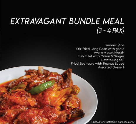 Extravagant Bundle Meal (3-4Pax)