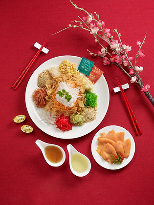 Reunion Yu Sheng Seafood Treasure Pot (8 - 10pax)