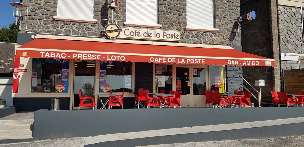 CAFE DE LA POSTE SAINT GERMAIN LES VERGN