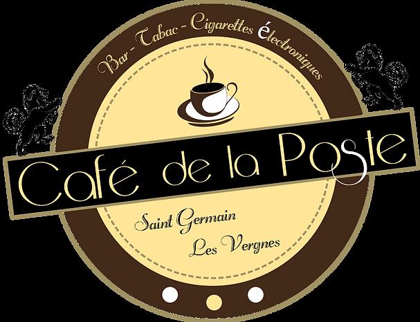 Logo du Café de la Poste de Saint Germain Les Vergnes