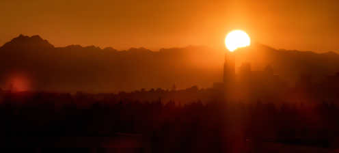 Sunset_Olympic Mountains