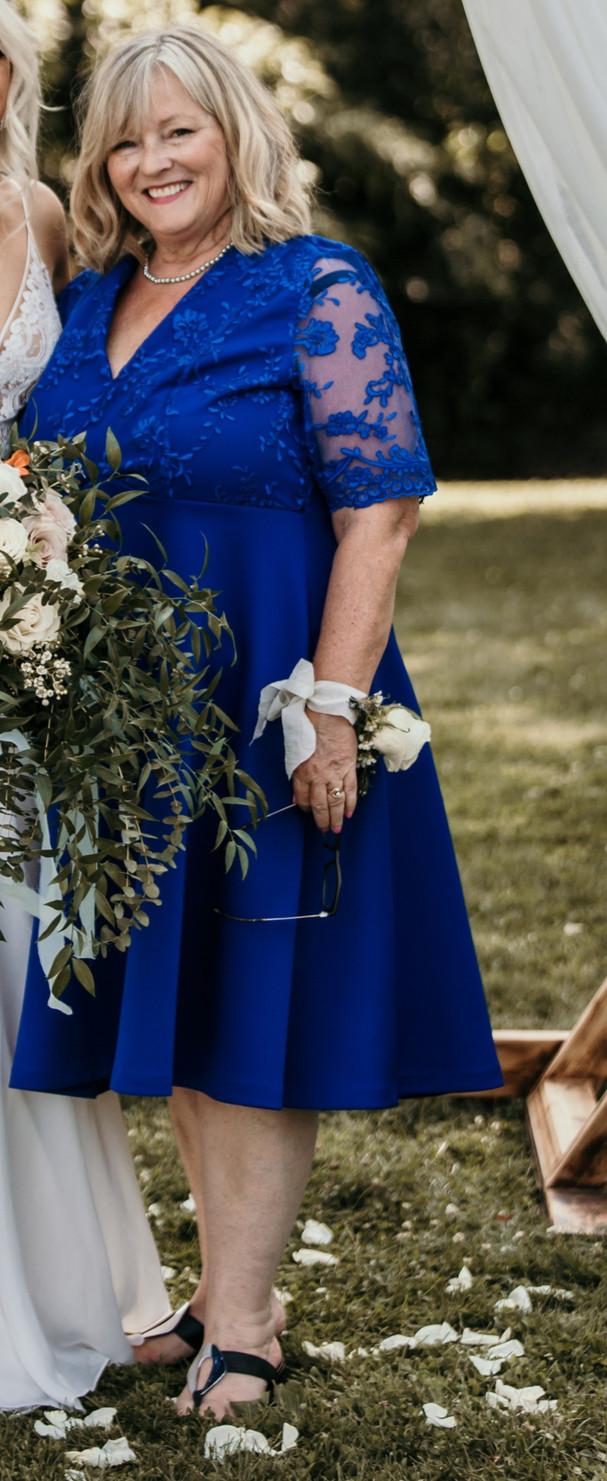 Custom Mother-of-the-Groom Dress