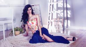 Blossom Top & Midnight Skirt