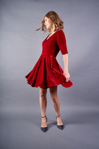 Bordeaux Dress