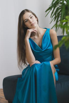 Cascade Gown
