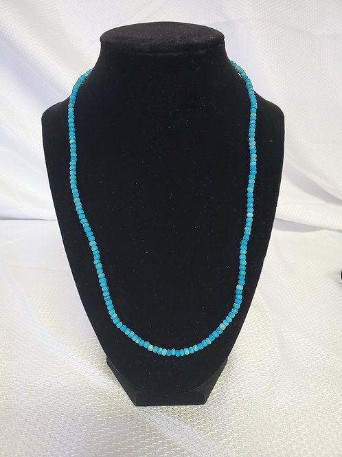 Turqouise Chip Neckless